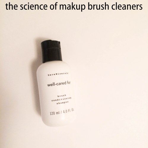 the science of makeup brush cleaners