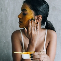 turmeric and honey masks