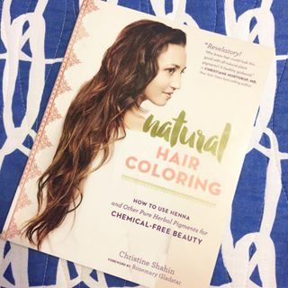 Natural Hair Coloring - Cosmetic Composition