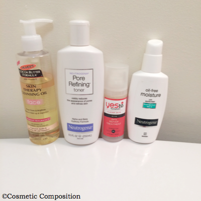 daytime basic skincare routine- Cosmetic Composition