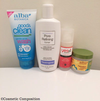 nighttime basic skincare routine - Cosmetic Composition
