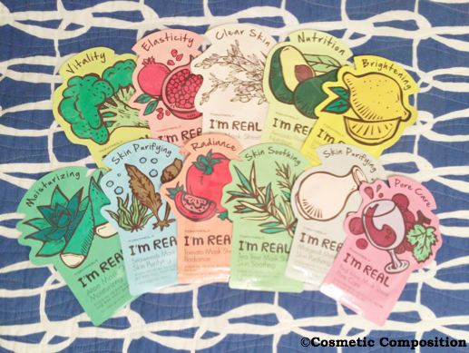Tony Moly sheet masks review - Cosmetic Composition