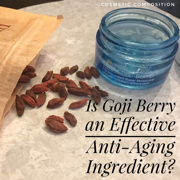 Goji Berry for Anti-Aging (1) - Cosmetic Composition