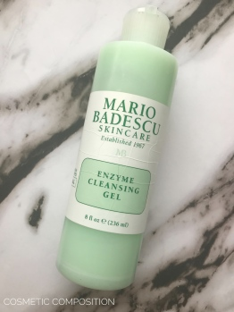 Mario Badescu Enzyme Cleansing Gel Review - Cosmetic Composition