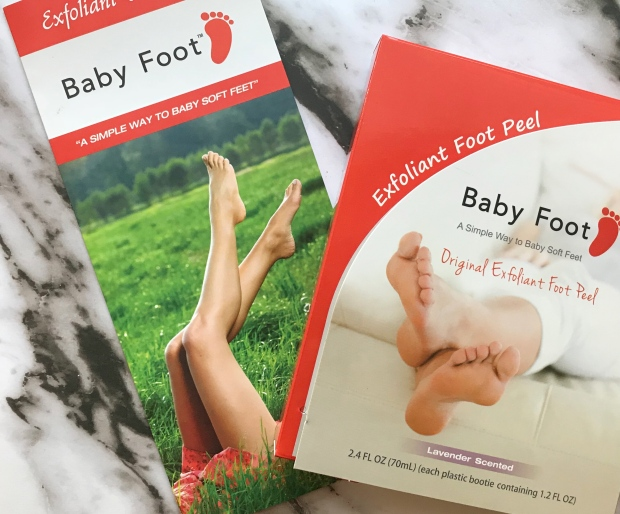 Baby Foot Review - Cosmetic Composition