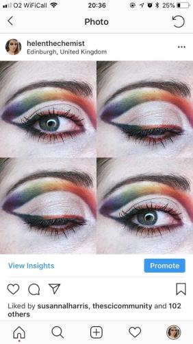 HelentheChemist Eye Makeup