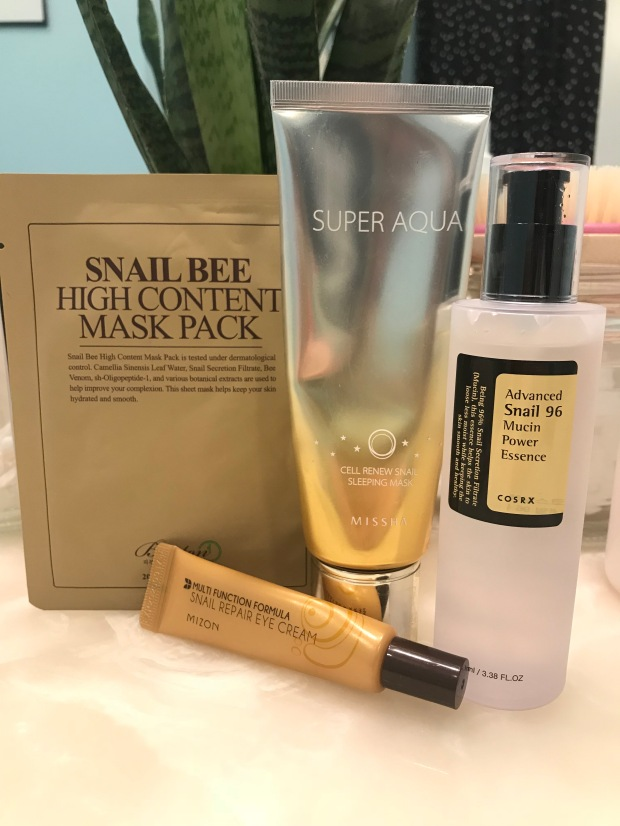 Snail Mucin Composition - Cosmetic Composition