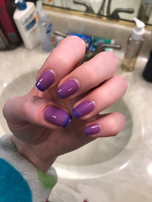 Color Changing Nail Polish - Cosmetic Composition